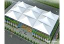 mái lều ngoài trời cho sân bóng rổ 1