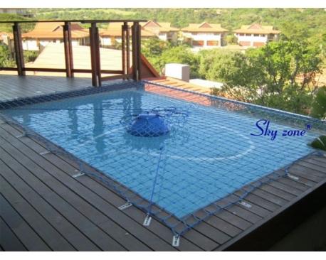 lưới an toàn che hồ bơi skyzone   nf